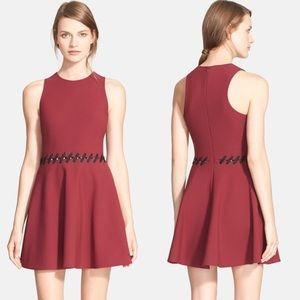 Elizabeth & James | Carter Fit & Flare Dress